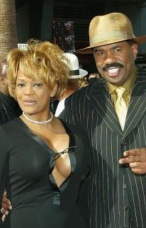 steve harvey with wife