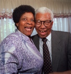 Albertina and Walter Sisulu of ANC